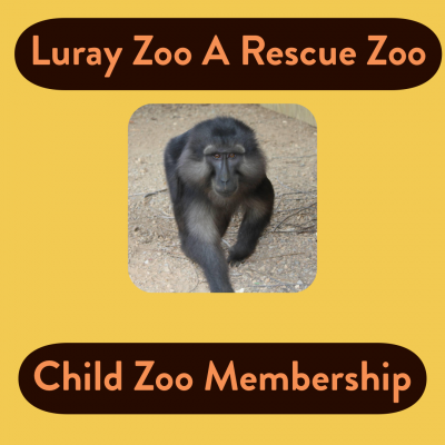 Zoo Membership Child  (Ages 3 - 12)